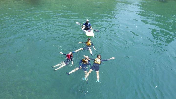 カヌー体験ツアーはまだまだ続く!