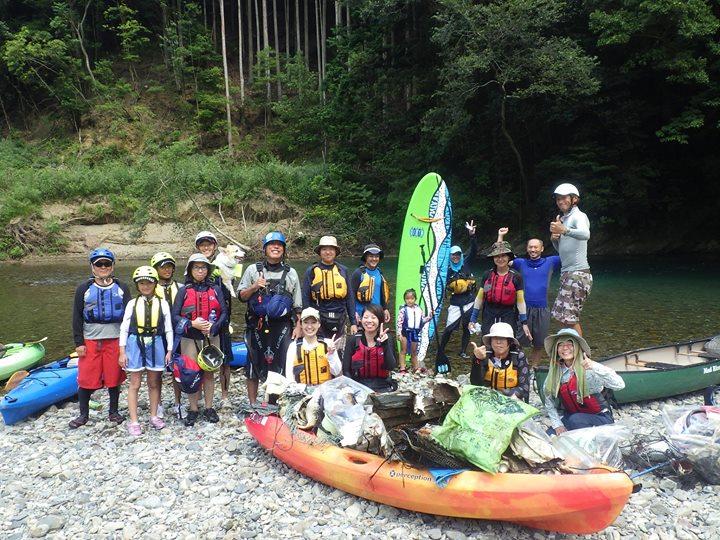 小川 カヌー体験ツアーも残り2日。