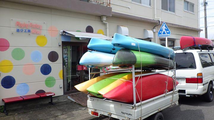 いよいよカヌーシーズンが明日まで~!