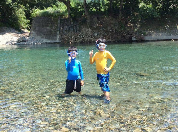 子ども達との夏休み。